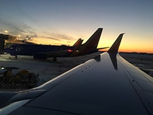 planes at terminal