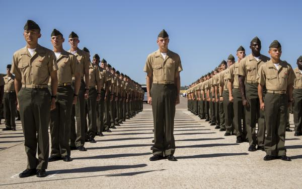 Marine Formation