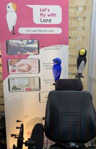 Loro Birds on Chair