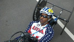 Harold Leon Bostick: Handcyclist (PHOTO COURTESY: Harold Leon Bostick)