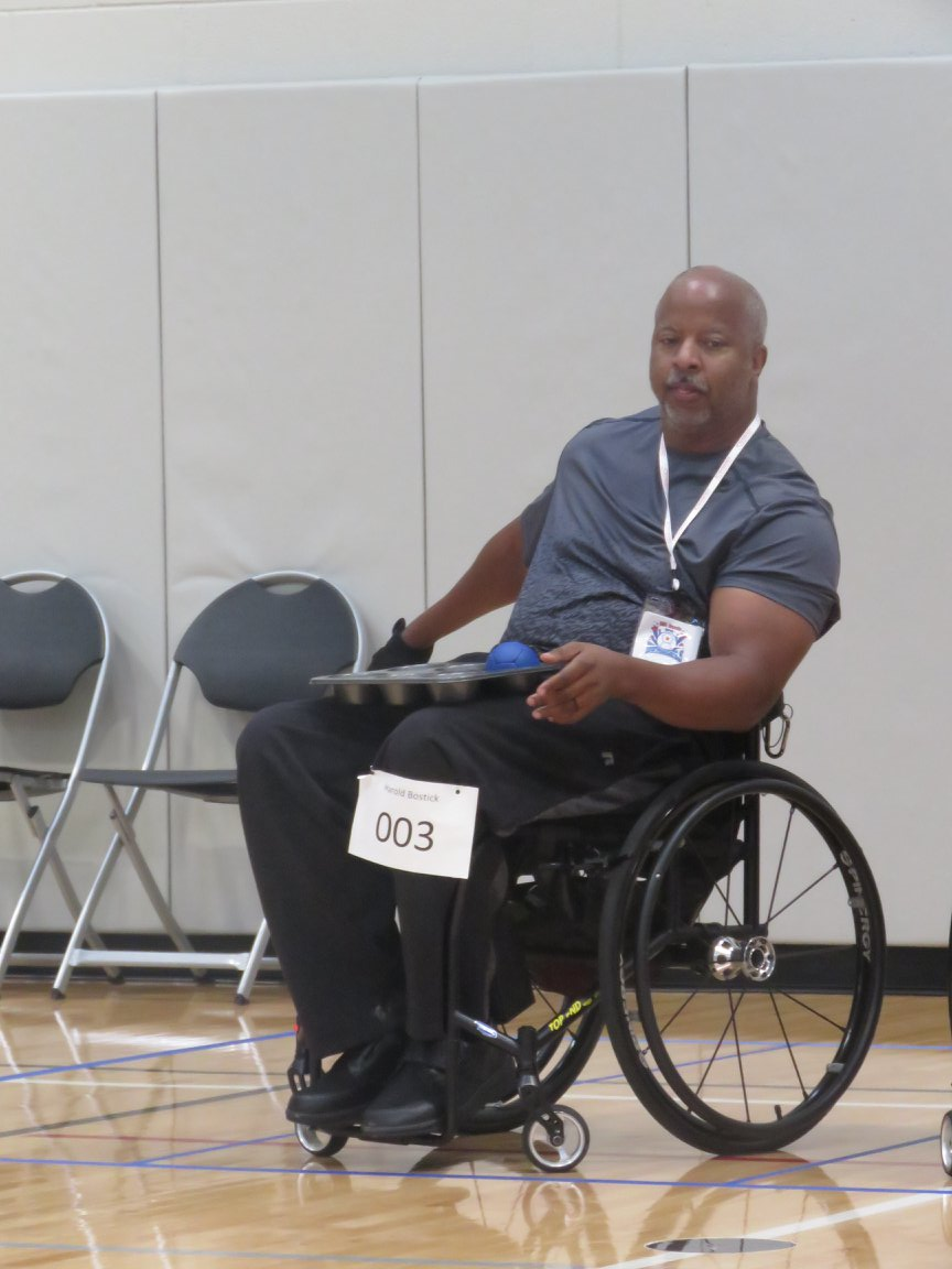 Bostick: Boccia Player